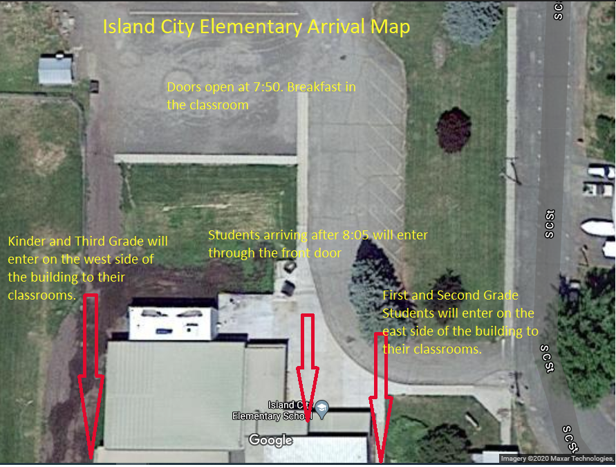 Arrival and Dismissal Maps