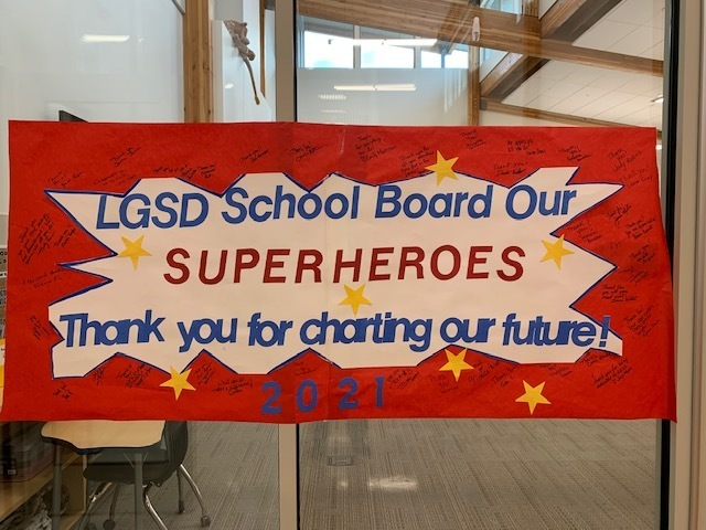 LGSD School Board Appreciation