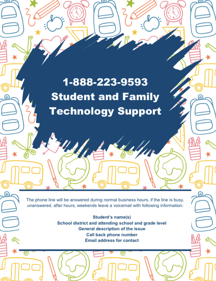 Student and Family Technology Support