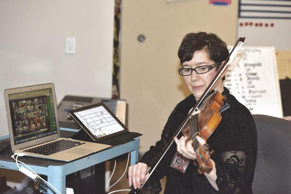 Fiddle Club Zooms in growth
