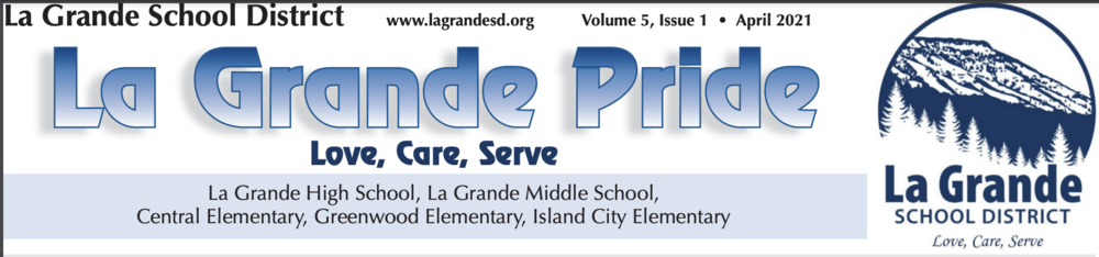 La Grande Pride Newsletter - April 2021