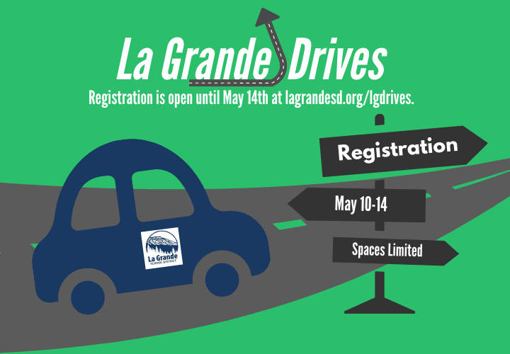 La Grande Drives Registration is open until May 14. Spaces Limited.